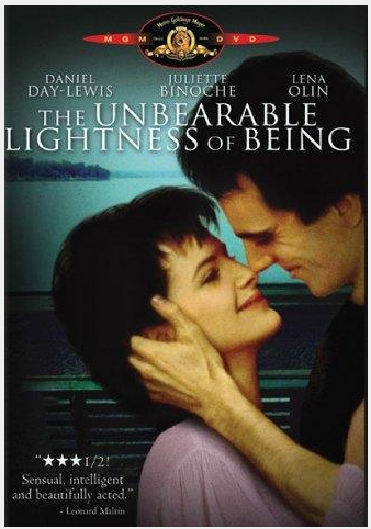 Cine en la retina: La Insoportable Levedad del Ser (The unbearable Lightness of Being)