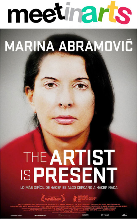 Meetinarts te invita al prestreno de  'Marina Abramovic: The Artist is Present'
